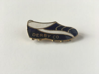 Vintage Derby County FC badge. 60/70's.