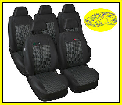 Fully tailored seat covers for Vauxhall Zafira C Tourer 2012 - 2018  5 seats