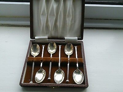 Solid silver coffee spoons