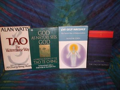 "Look!bulk New Age/ Esoteric/ Spiritual/ Metaphysical Book Lot-""tao"" Lot#02"