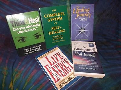 "Look!bulk New Age/ Esoteric/ Spiritual/ Metaphysical Booklot-""healing"" Lot#63"