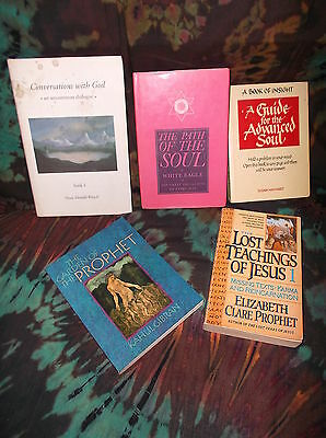 "Look! Bulk -New Age/ Esoteric/ Spiritual/  Metaphysical ""soul Journey"" Lot -Sb24"