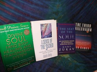"Look!bulk Newage/ Esoteric/ Spiritual/ Metaphysical Booklot-""divine Soul"" Lot#62"