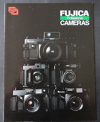 Catalogue FUJICA professionnal G617 X9 GSW690 caméra photo catalog Katalog