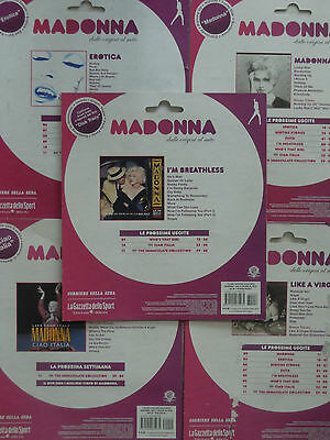 "Madonna - 10 Cartoncini Collection ""madonna - Dalle Origini Al Mito"", 2008 Italy"