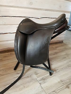 Luc childeric dressage saddle dressursattel 18.5 DI
