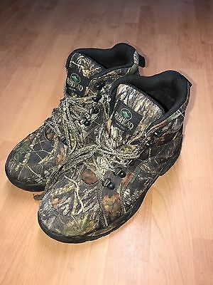 Redhead Thinsulate Ultra Camo Boot Men's Lace Up Hunting Waterproof  Size 10