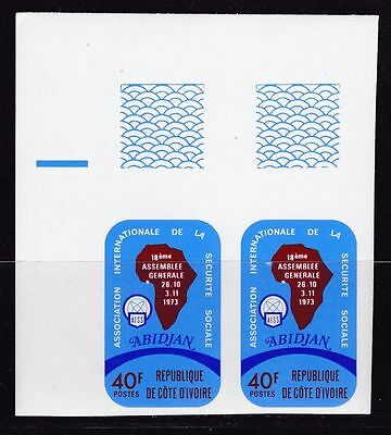 Ivory Coast, Social security 1973. Imperf.   MNH.