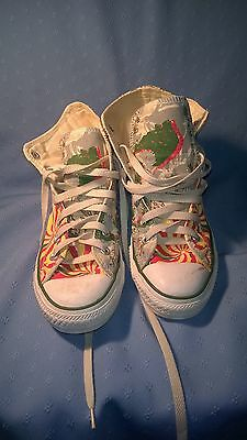 Reggae Converse Chuck Taylor All Star Mens 6 Womens 8 (PRICE REDUCED)