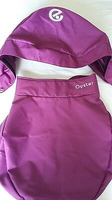Oyster Carrycot Colour Pack in Grape