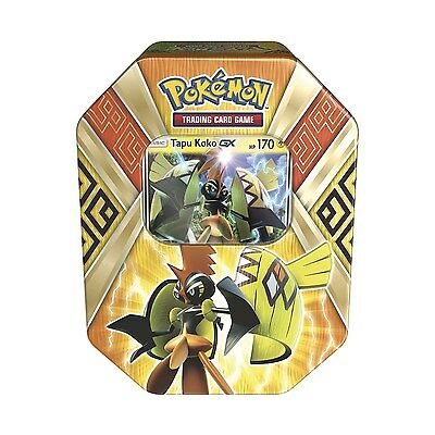 Pokémon Trading Card Game: Island Guardians Tin with Tapu Koko-GX