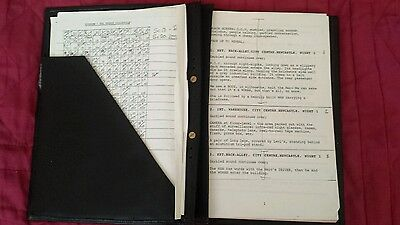 Original spender TV script The French collection a Christmas special