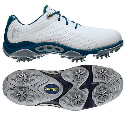 Footjoy Junior Dna Golf Shoes Size 5 - New Boys Dryjoys Waterproof Leather 2016