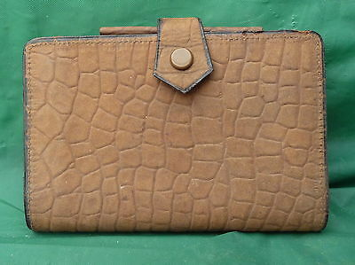 Rare Vintage Leather Cws Pocket Diary 1923 Notebook Wallet Case Display