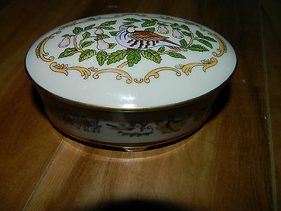 Lenox 12 Days Of Christmas~Oval Box W/lid~A Partridge In A Pear Tree~Exc Cond