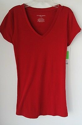 Liz Lange Maternity Women's T-Shirt Red Size S NWT Free Shipping!!!