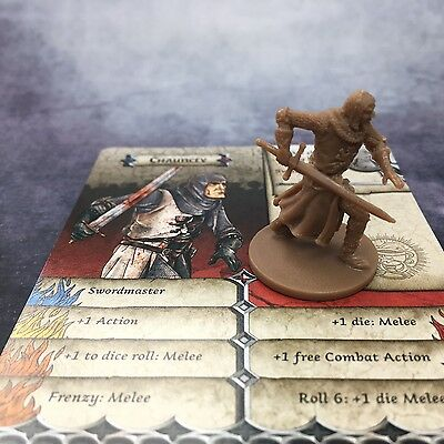 Zombicide Black Plague Hero Chauncey not Lancelot from the Holy Grail