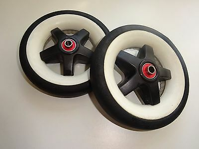 2 Bugaboo Bee Plus Replacement Back/Rear Wheel fits also Bee Original (07,08,09)