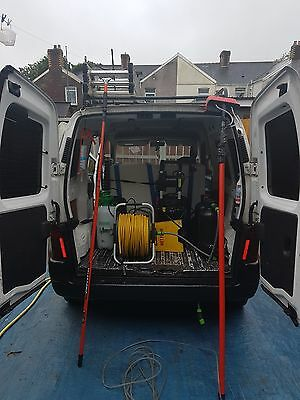 peugeot partner van and window cleaning round  and business for sale