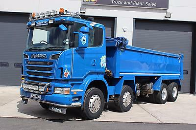 2013 Scania R440 8x4 Tipper  Thompson Steel Body With Easy Sheet System,