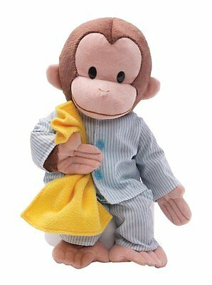 Gund Curious George Pajamas Stuffed Animal New Fast Free Shipping