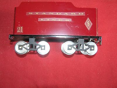Standard Scale Classic Model Trains Standard Lines Tender Only #21