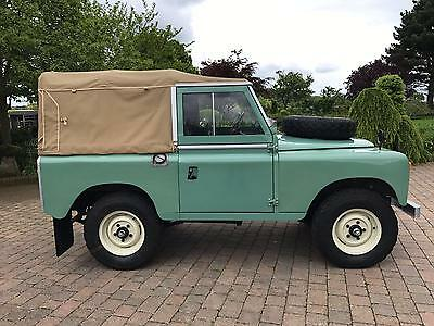 Land Rover  SERIES 2 REGISTERED 1960 SWB  ONLY 2 PREVIOUS OWNERS