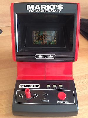 Table Top Game & Watch Nintendo JI21 MARIO Touches VF
