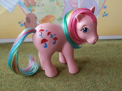 My Little Pony Parasol French France nirvana Great! vintage poney kleines G1