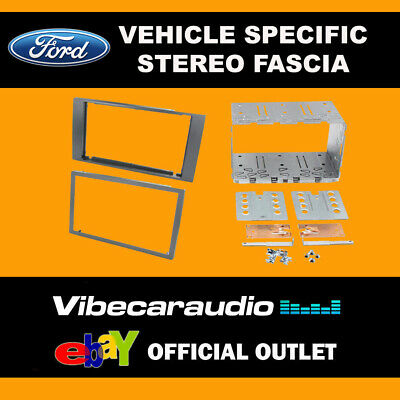 Ford C Max 2003 - 2010 Double Din Stereo Fascia Panel Adaptor CT23FD03