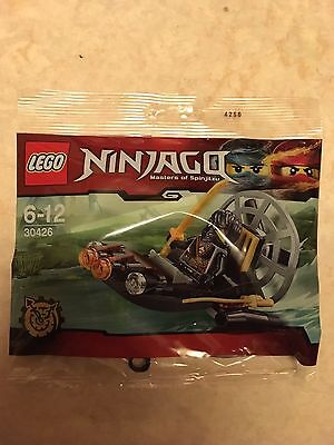 Lego 30426 Stealthy Swamp Airboat Brand New Sealed Polybag Ninjago Cole