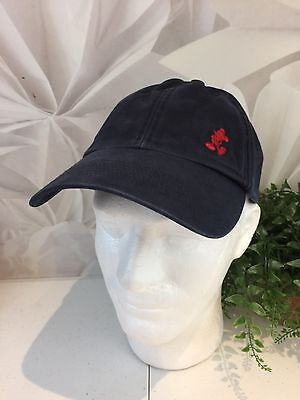 0ec52831 MICKEY MOUSE HAT 2 Faces Walt Disney World Embroidered Black White ...