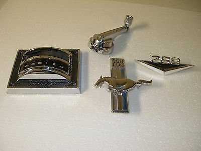 1967 Ford Mustang Chrome Parts