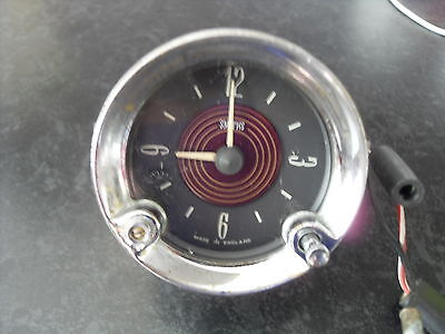 Classic Smiths Car Clock. Suit MG, Rootes, Sunbeam, Triumph, Jag.