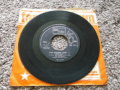 "The Miracles 7"" Single Record,- Love Machine ( Part 1 ), 1975."