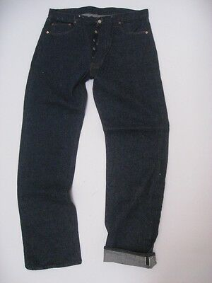 Vintage Levi's 501 Redline Selvedge Single Stitch Jeans Tag Size 40 X 38