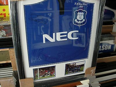 *****everton Fc 1995 Fa Cup Final Paul Rideout Signed Football Shirt*****