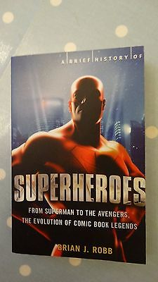 A Brief History of SUPERHEROES paperback