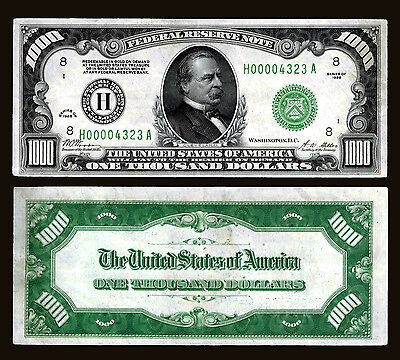 99-United States. $ 1000 bank Note. P426. Series of 1928.  Bank of ST. Louis .
