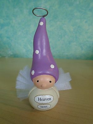 Enesco Bea's Wees Figurine 'Heaven Sent' Cute Little Figure