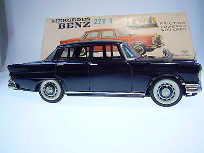 "Gspkw, Gsdb, Ichiko Japan  ""mercedes 220 S"", Fr Ok, Like Neu/new/neuf In Box !"