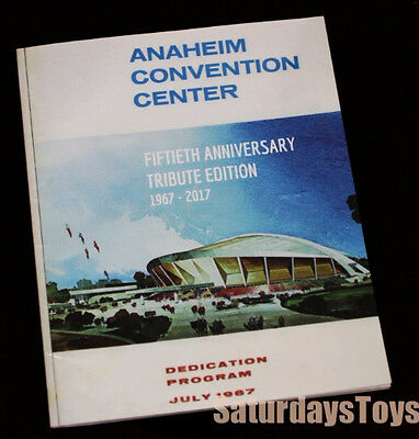 1967 Anaheim Convention Center 50th Anniv Program The Doors & Jefferson Airplane