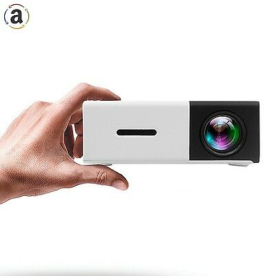 Projector LED Mini Projector PC Laptop iPhone Smartphone Photo Video Game Movie