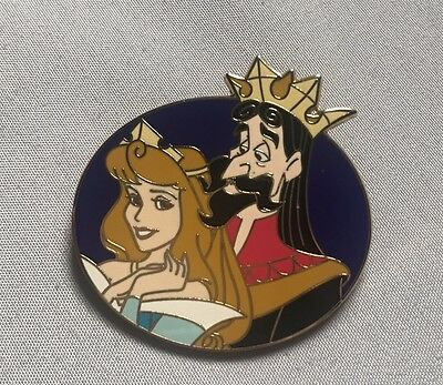 Sleeping Beauty- Aurora and King Stefan Limited Edition Trading Pin