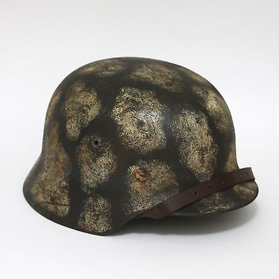 German M35 LW camouflage helmet with liner Large size