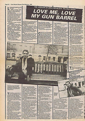 LEONARD COHEN large press clipping 1980  30x40cm (23/02/80)