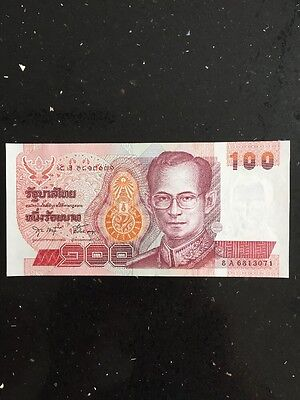 100 BAHT Thai Note Uncirculated Old King