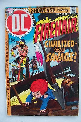 SHOWCASE #85 FINE+    FIREHAIR!        Beautiful JOE KUBERT art!