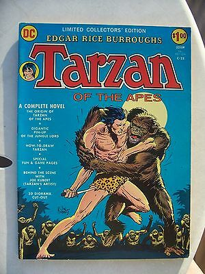 TARZAN OF THE APES LIMITED COLLECTOR'S EDITION C-22 VF     JOE KUBERT art!