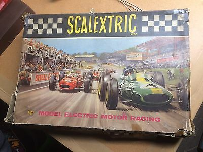 Vintage Triang Scalextric Set 31. Lotus & Cooper Cars. 1964. Vgc.